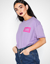 Lee Jeans Logo t Rap City Violet