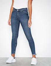 Vero Moda Vmseven Nw Slim Fringe Ankle Jeans
