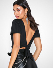 NLY Trend Tie Back Flowy Top