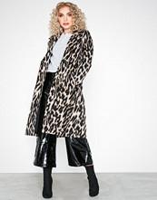 River Island Leopard Robe Coat