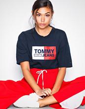 Tommy Jeans Tjw Box Logo Tee Black