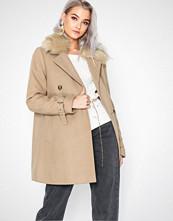River Island Tito Fur Collar Coat