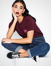 Lee Jeans Mini Logo t Maroon