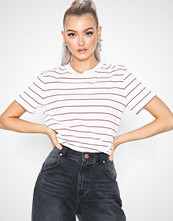 Selected Femme Slfmy Perfect Ss Tee Thin Stripe Co