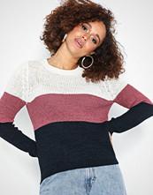 Only onlGEENA L/S Block Pullover Knt Noo