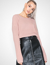 Pieces Pcmarie Ls O-Neck Knit Noos