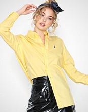 Polo Ralph Lauren Ls Rx Bd St-Relaxed-Long Sleeve-Shirt Yellow