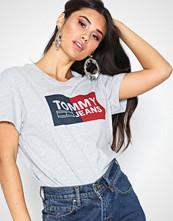 Tommy Jeans Tjw Box Logo Tee Grey