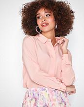 Selected Femme Slfodette Ls Silk Shirt B