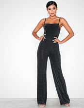 NLY One Straight Line Lurex Jumpsuit
