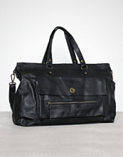 Pieces Pctotally Royal Leather Travel Bag