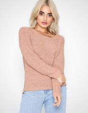 Only onlGEENA Xo L/S Pullover Knt Noos Misty Rose