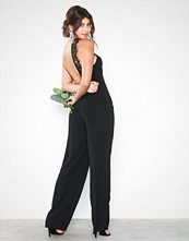 NLY Eve Lace Back Crepe Jumpsuit