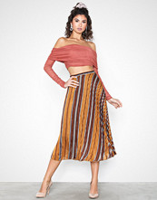 Neo Noir Fria Lurex Stripe Skirt