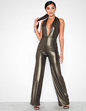 NLY One Halterneck Glam Jumpsuit