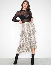 Selected Femme Slfsnake Mw Skirt Ex