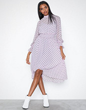 Glamorous Flounce High Neck Dress