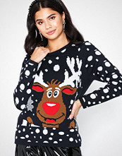Only onlX-Mas Bell Reindeer L/S Pullover