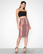 NLY One Sequins Snake Skirt