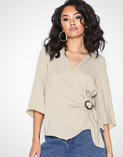 River Island Wrap Blouse Ring