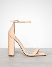 Missguided Block Heel Barely There