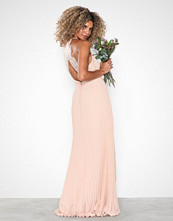 NLY Eve Pleated Lace Gown Lys rosa