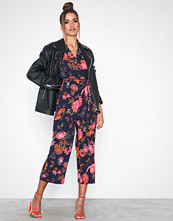 Ax Paris Maxi Flower Jumpsuit