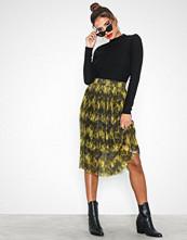 Only onlZEBRA Pleated Skirt Jrs