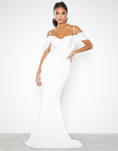 Missguided Off Shoulder Fishtail Maxi Dress