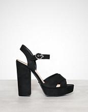 Only onlALLIE Wide Crossed Heeled Sandal