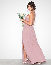 NLY Eve Halterneck Beaded Gown Dark Rose