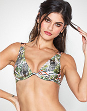 South Beach Safari Print Monowire Top