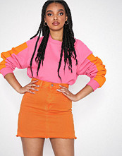 Dr.Denim Mallory Denim Skirt Orange