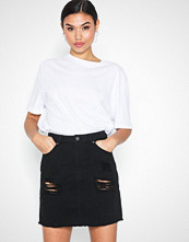 NLY Trend Destroy Mini Denim Skirt