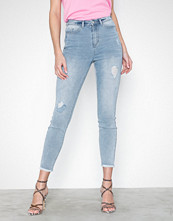 Missguided Sinner Authentic Highwaist Distress