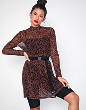 NLY Trend Print Mesh Dress