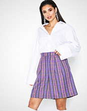NLY Trend Colorful Check Shorts