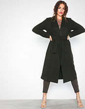 Only onlAMY Sharon Long Wool Coat Cc Otw Grønn