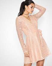 NLY Trend Lace Wrap Dress