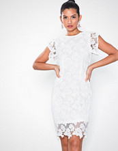 Ax Paris Short Sleeve Lace Dress