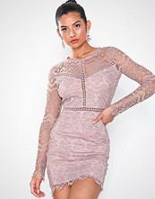Love Triangle Champange Taste Mini Dress
