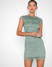 Only onlSHIRA Lace Dress Noos Wvn Grå
