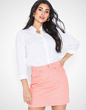 Gina Tricot Hi-waist Short Denim Skirt