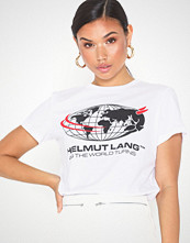 Helmut Lang world turns tee.wor1