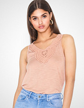 Only Onlisa S/L Crochet Tank Top Jrs
