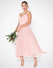 Forever Unique Maxi Strappy Lace Dress
