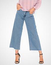 Only Onltwinky Hw Wide Ank Dnm Jeans