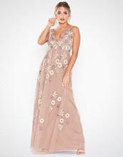 Maya Plunge Neck Cami Maxi Dress