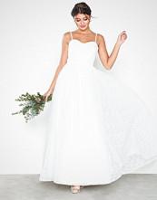 Maya Embroidered Bridal Maxi Dress