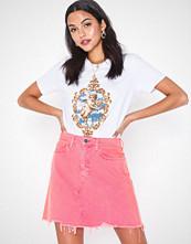 River Island Lauren Neon Pink Jeans